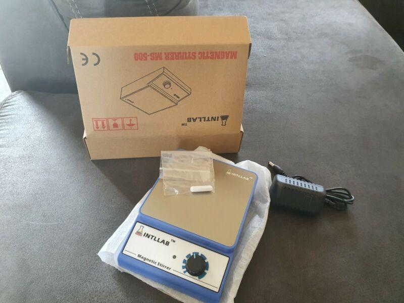 INTLLAB MS-500 Magnetic Stirrer - Blue
