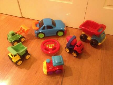 Assorted toy vehicles Brighton East Bayside Area Preview