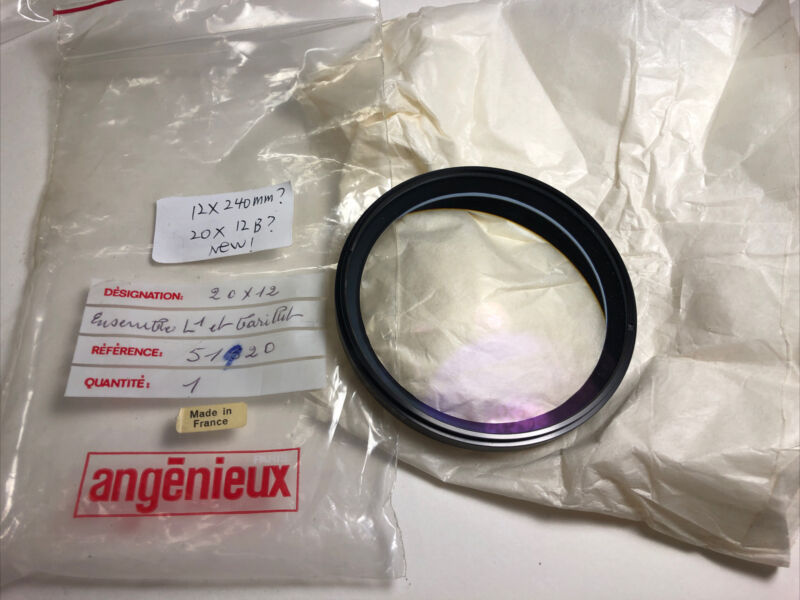 Angenieux optic replacement element for unknown lens 95% condition