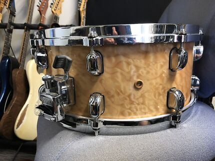 Tama quilted maple snare