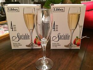 8 Libbey Champagne Glasses London Ontario image 1