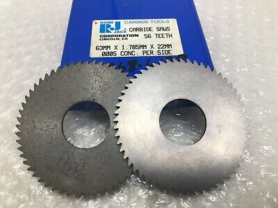 "Fullerton Carbide Slitting Saw 2-1//4/"" Diam x 0.625/"" Arbor Diam 44T 2450071"