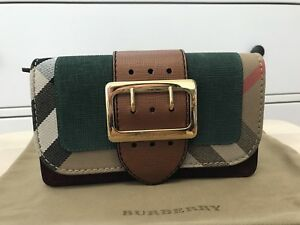 Burberry Small Buckle Crossbody Bag