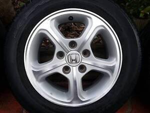 HONDA CIVIC – Genuine alloy wheels Tuggerah Wyong Area Preview