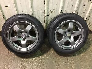 Nissan R32 RAYS wheels and 225/50R16 Tires