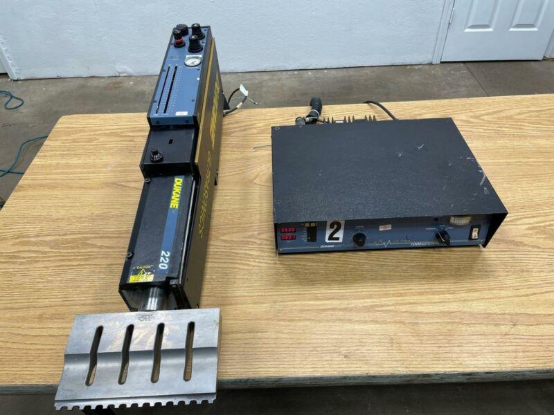 Dukane 220 Ultrasonic Welder Model:43B260, Ultra 1000 AutoTrac 20-T1000 Control