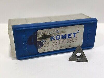 Komet W59 32050.0803 New Carbide Inserts 8pcs