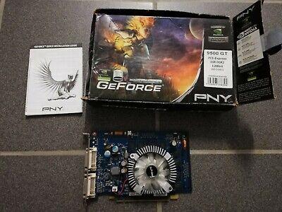 GeForce 9500 GT Grafikkarte PNY PCI-Express 1 GB DDR2 128 Bit 2x DVI-I NVIDIA