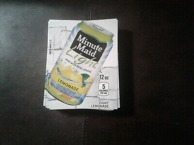 Royal Vendors Soda Vending Machine Pack Minute Light Lemonade Labels Selection