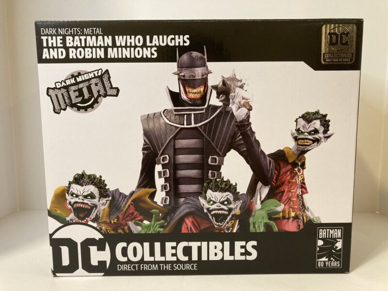 Dark Nights: Metal The Batman Who Laughs & Robin Minions Deluxe Limited Edition