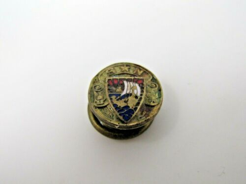 SN Sons of Norway Pin Antique Vintage Collectible Scarce Design