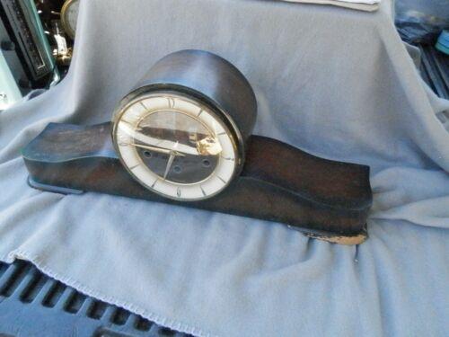 Vintage Cuckoo Clock MFG CO Germany Key Wind Mantle Clock Estate Find