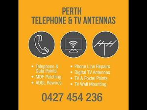 Perth Telephone & Tv Antennas Perth Perth City Area Preview