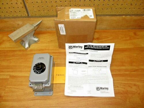 Marley WT-12A *NEW* Line Voltage Thermostat 40-110 Deg F