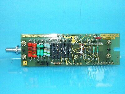 Tektronix 576 Curve Tracer Step Generator Amplitude 670-1025-01 Assy
