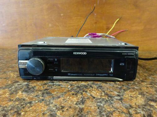 Kenwood KDC-655U Car Radio CD Player (C-4)