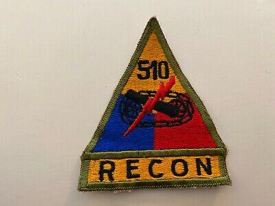 TT316 Korean War US Army Armored Tank Battalion Triangle 510th Recon WA8
