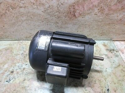 Ex-cell-o Cnc Mill Induction Motor J2611 Cnc