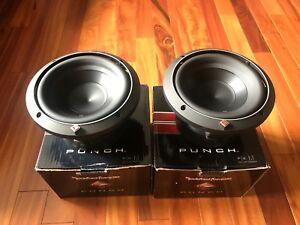 2 8inch Rockford Fosgate p2 subwoofers