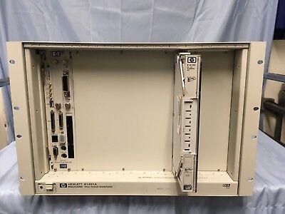 Hp Agilent E1401A High Power Mainframe W/ E1413C And Platform Controller