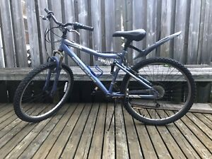 Nakamura dual suspension mountain bike. Size small