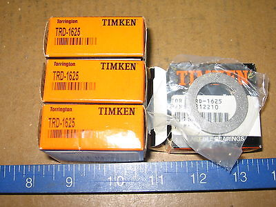 Lot Of 4 Timken Trd-1625 Thrust Bearing Washers New In Box- Trd1625