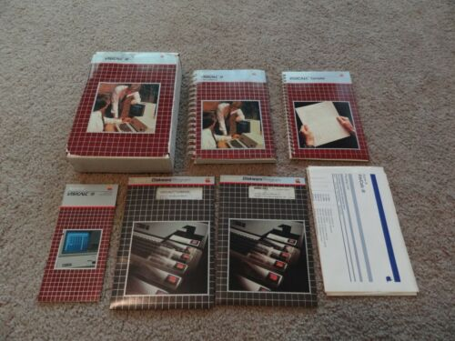 Visicalc for the Apple III computer with program disk and manuals