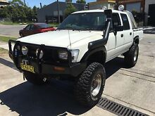 Toyota HIlux 1994 . Dual Cab . 4 months rego Lidcombe Auburn Area Preview
