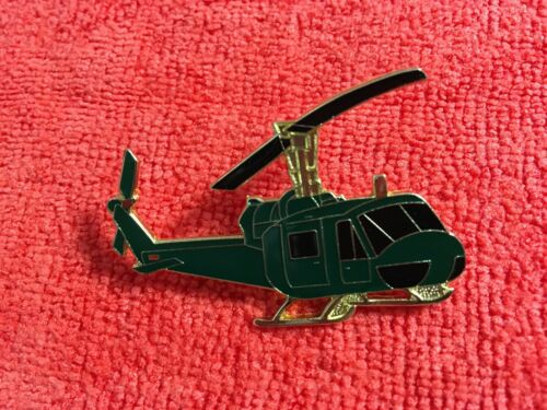 UH 1 HUEY HELICOPTER LARGE SIZE HAT PIN
