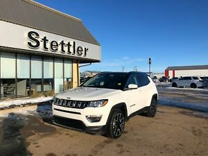 2018 Jeep COMPASS LIMITED BLACK ROOF! SUNROOF! NAV! LEATHER!