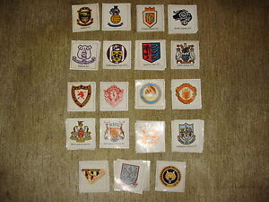 FKS Soccer Stars stickers 1971/72 Club Badges - Choose 1 from list.