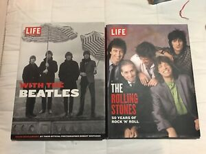 The Beatles & The Rolling Stones LIFE Photography Books