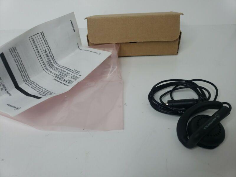 Genuine Motorola BDN6719A Flexible Ear Receiver Two-Way Radio Police Fire EMS