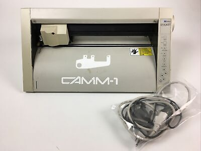 Roland Camm-1 Pnc-900 Vinyl Cutter With Cables