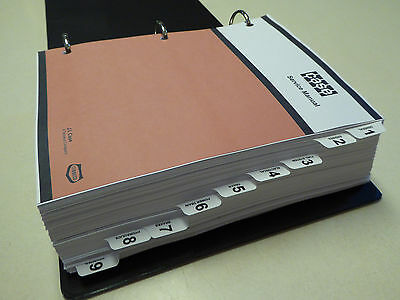 Case 350b Crawler Dozer Bulldozer Service Manual Repair Shop Book New Wbinder