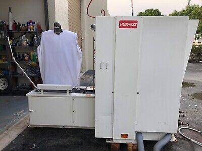 Unipress Single Buck Vacuum Sleeve Press