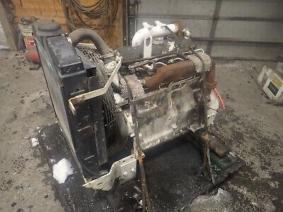 John Deere 4239df Diesel Engine Runs Mint Video 4239 239 4039 Tractor Backhoe