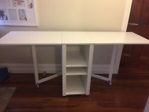 Desk Sewing Table Dining Table Fold Down