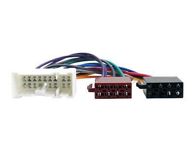 Radio Estéreo Headunit Iso Cableado Cable Adaptador CT20NS02 para Nissan Modelos