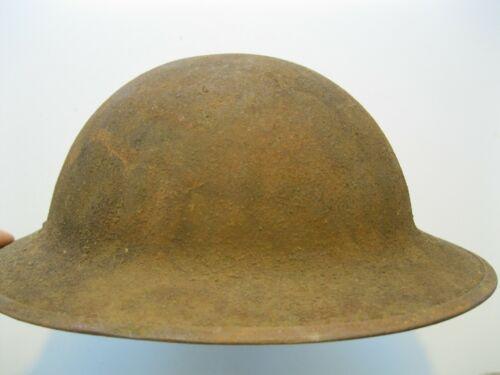 Original USA American AEF WW1 WWI M-1917 Brodie Helmet with Original Sand Finish