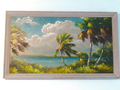 1960's HAROLD NEWTON REPRODUCTION OF MASTERPIECE OIL PAINTING 20X36 HIGHWAYMEN