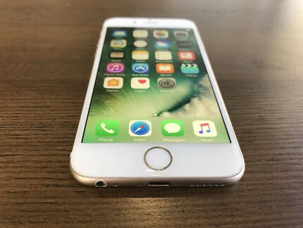 iPhone 6 16gb gold in excellent condition