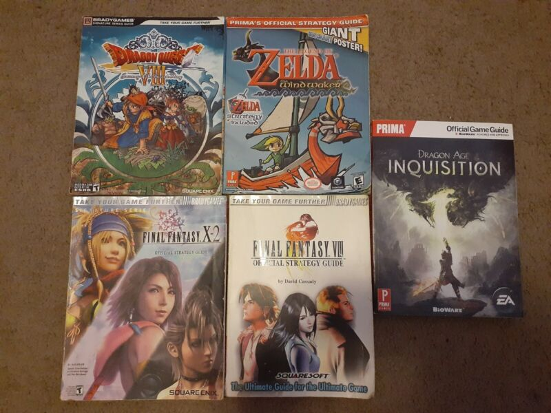 Video Game Strategy Guide Lot