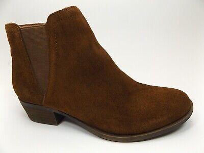 Kensie Garry Women's Zip Up Ankle Fashion Booties Brown Suede, SZ 7.0 M, D13917