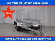 8X5 TANDEM HOT DIP 2000KG ATM , ON SALE NOW , FREE SPARE TYRE Dandenong South Greater Dandenong Preview