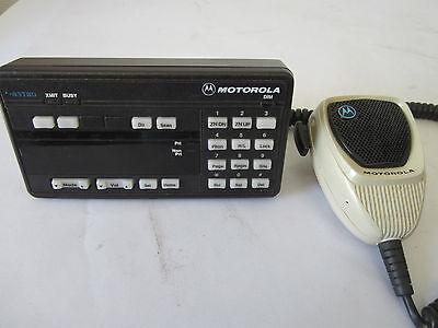 Motorola Radio Astro Spectra Control Head W9 Hcn1078 Systems 9000 Speaker Mic