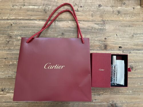 NEW Cartier Shopping Bag and Jewelry Watch Lotion Cleaner