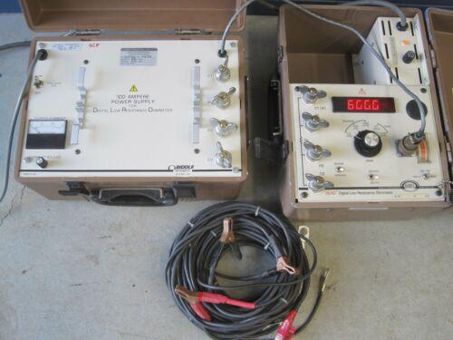 Biddle AVO Megger DLRO Low Resistance Ohmmeter 247000 100A Power Supply 247120
