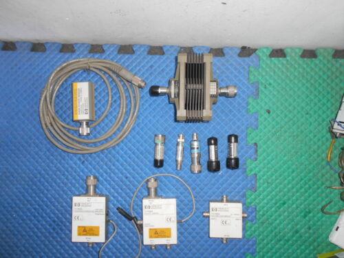 HP 8485D Power Sensor 8498A Attenuator and More