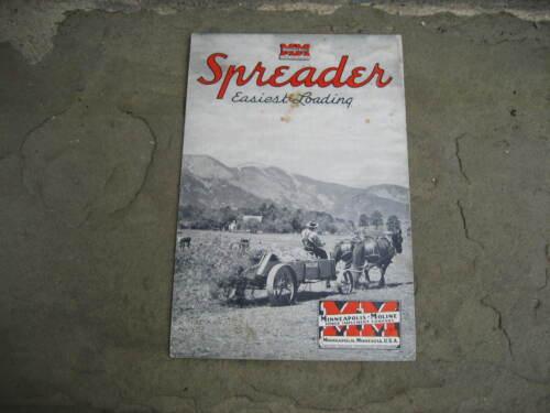 1941 Minneapolis-Moline Spreader Brochure